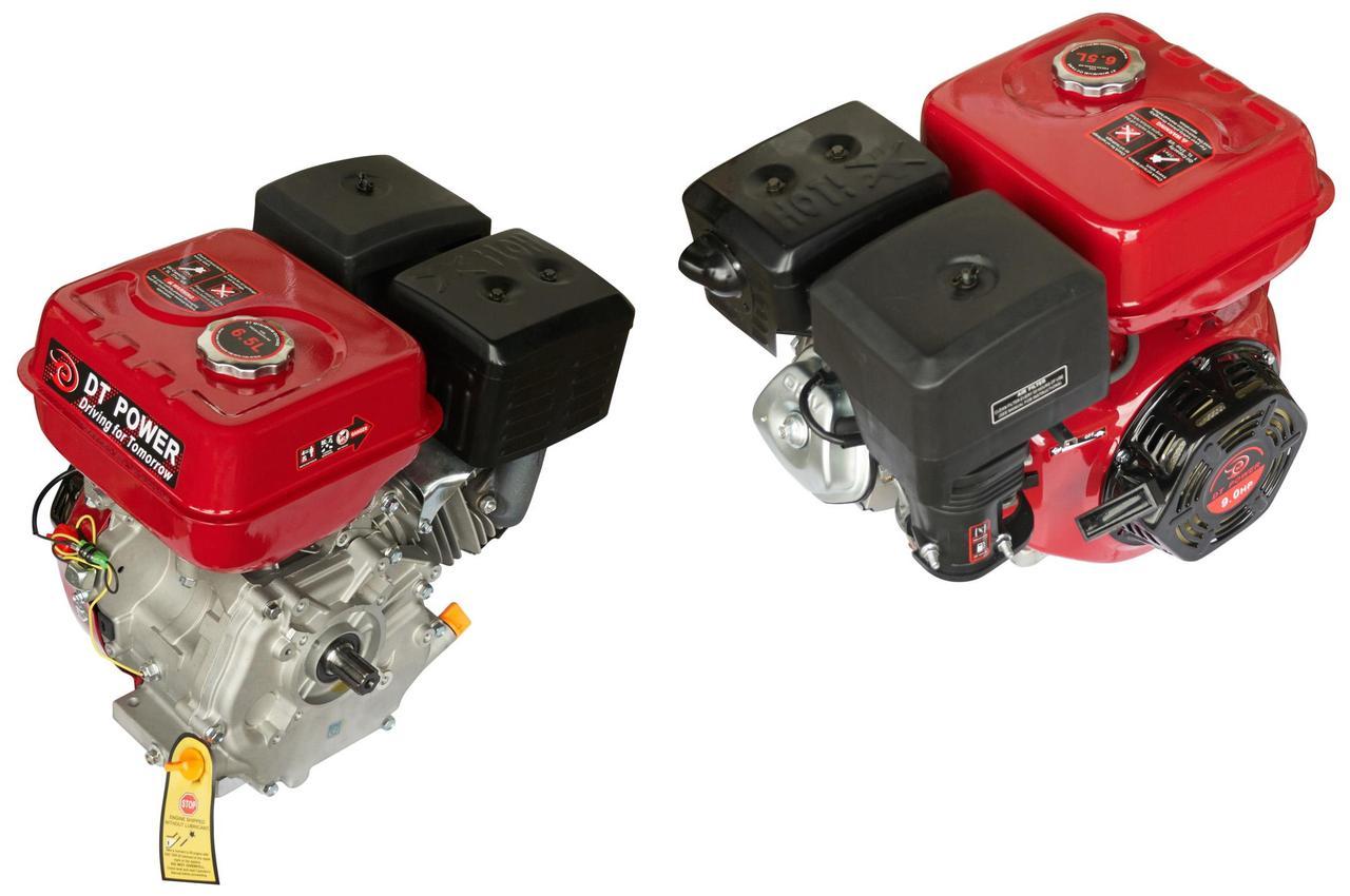 Двигатель (В сборе)  на Мотоблок 177F (9 Hp Лошадиных Сил) (полный комплект) (вал Ø 25мм, под шестерни)