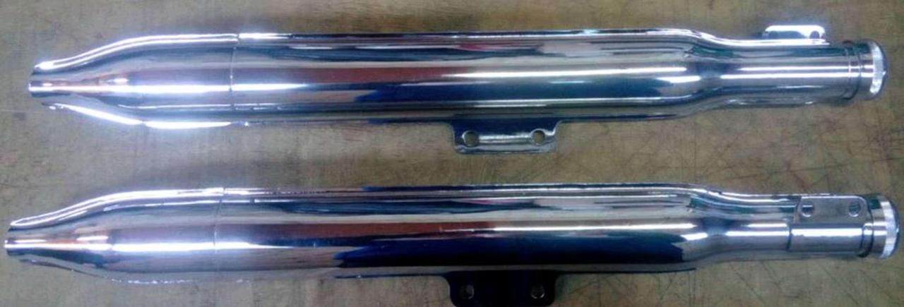 Глушитель (Выхлопная труба) ЯВА 175 (пара) (Турция) (#VCH)