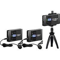 Микрофон Радиосистема Commlite Comica CVM-WS60 Combo 2+1 (CVM-WS60-COMBO)