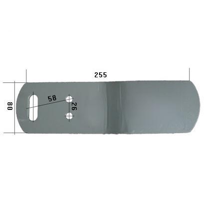 3476001, Удлинитель ЛЕВЫЙ овала ST4 LI 80x285