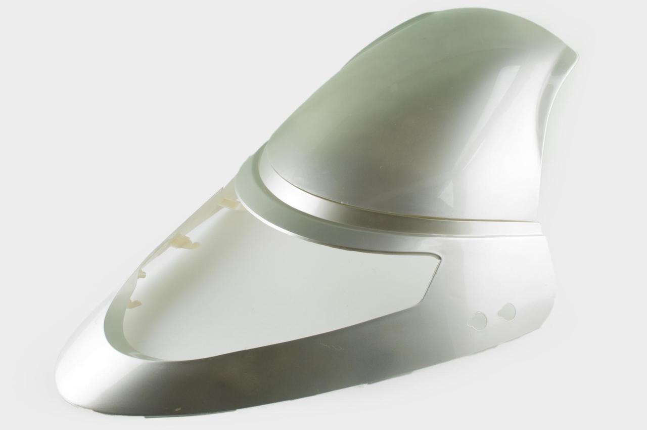 Пластик Зонгшен (Zongshen) Ф1 (F1), Ф (F) 50  передний (клюв) (серый) KOMATCU