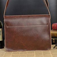Мужская кожаная сумка-портфель. Модель с6, фото 3