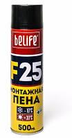 Бытовая монтажная пена BeLife F25 500мл