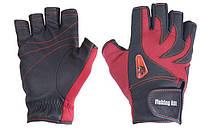 Перчатка спиннингиста Fishing ROI WK-05 red XL (б/пальц.)