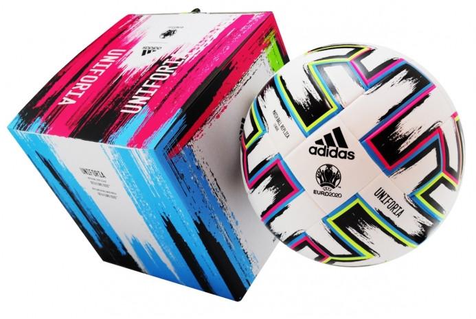 Футбольний м'яч Adidas Uniforia League EURO-2020 BOX FH7376