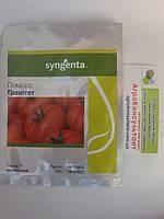 Насіння томату Гравітет F1 (Syngenta) 500 насінин - ранній (63-68 днів), червоний, напівдетермінантний, кругли