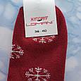 Шкарпетки жіночі махрові вишня розмір 36-41, фото 2