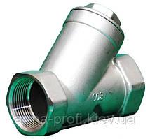 Клапан обратный муфтовый YCT Ду 15