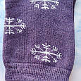 Носки женские махровые сиреневые размер 36-41, фото 2