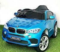 Детский электромобиль BMW X6M - JJ2199 синий лак