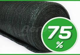 СЕТКА затеняющая для теплиц 75% Agreen зеленая рулон