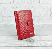 Обложка для прав, паспорта, карты застежка красная Desisan 102-131, Турция