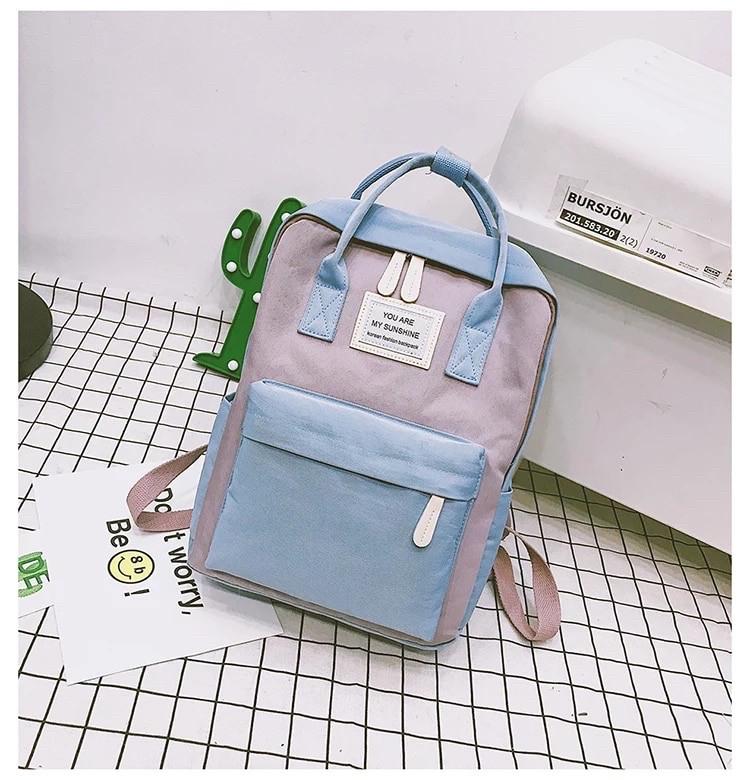 Рюкзак для девочки подростка школьный, водонепроницаемый в стиле Канкен