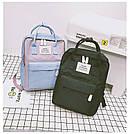 Рюкзак для девочки подростка школьный, водонепроницаемый в стиле Канкен, фото 6