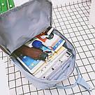 Рюкзак для девочки подростка школьный, водонепроницаемый в стиле Канкен, фото 8