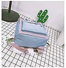 Рюкзак для девочки подростка школьный, водонепроницаемый в стиле Канкен, фото 4