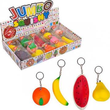 Брелок мягкий фрукты Jumbo Sqvisny 6×5,5×5 см., фото 2