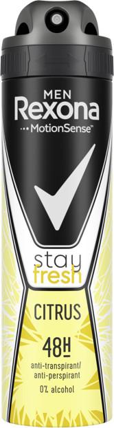 Дезодорант Rexona мужской Stay fresh. Citrus (150мл.)