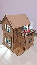 Ляльковий будиночок для ляльки Лол нічник світильник. В ПОДАРУНОК меблі !!! 30см × 23см