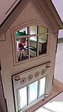 Кукольный домик для куклы Лол ночник светильник. В ПОДАРОК мебель!!!, фото 3