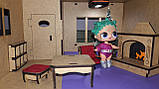 Кукольный домик для куклы Лол ночник светильник. В ПОДАРОК мебель!!!, фото 8