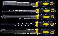 Набір напильників по металу 200 мм, 5 од.