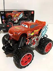 Машина аккумуляторная внедорожник на радиоуправлении 2057 Тачки Kronos Toys 23 см Красный