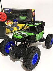 Машинка аккумуляторная внедорожник на радиоуправлении Alliance Hulk 2065 Kronos Toys Халк Зеленый