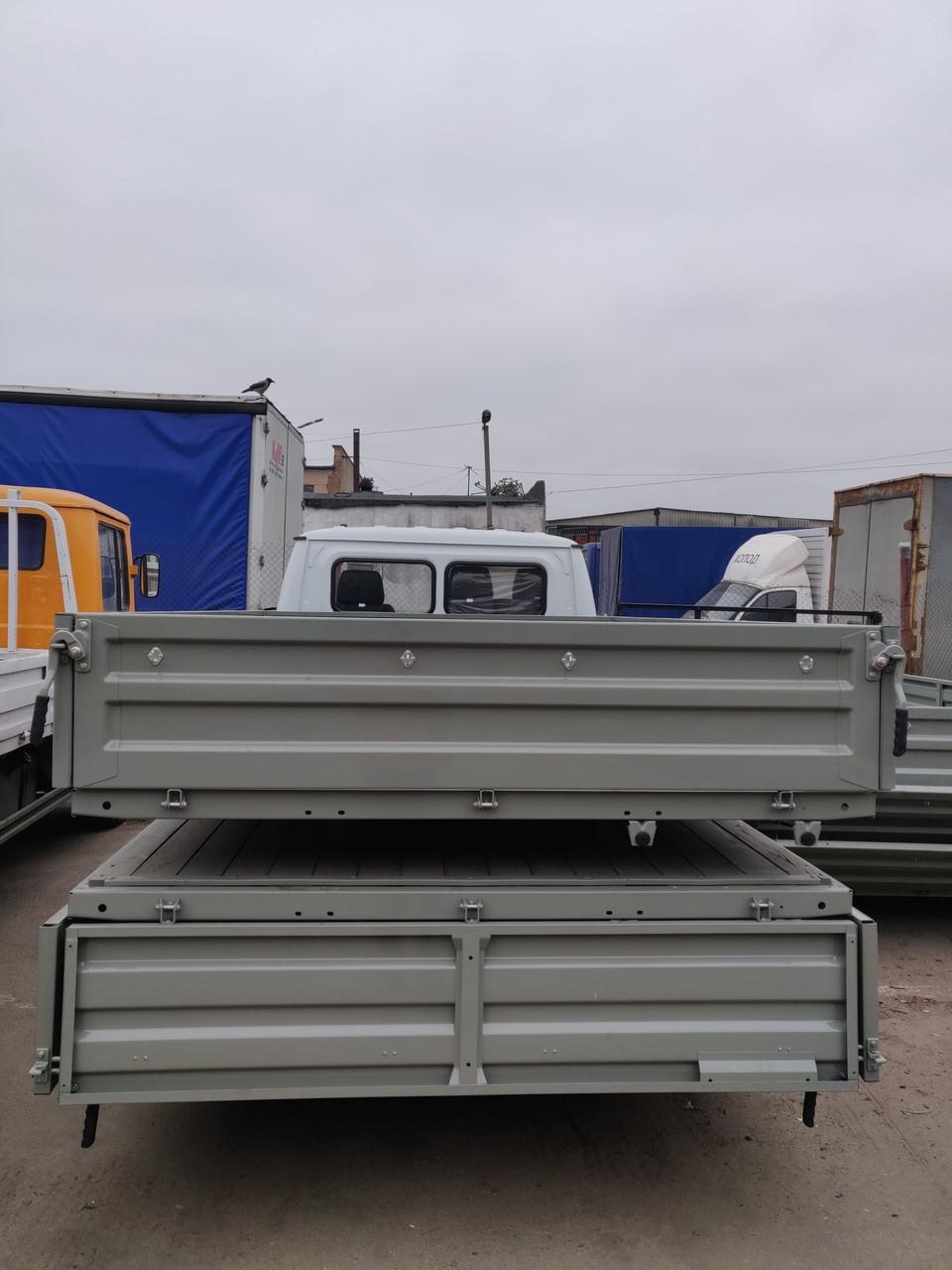 Кузов - платформа бортовая 3302