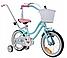 Детский велосипед  SUN BABY BMX STARS 14(голубой), фото 2