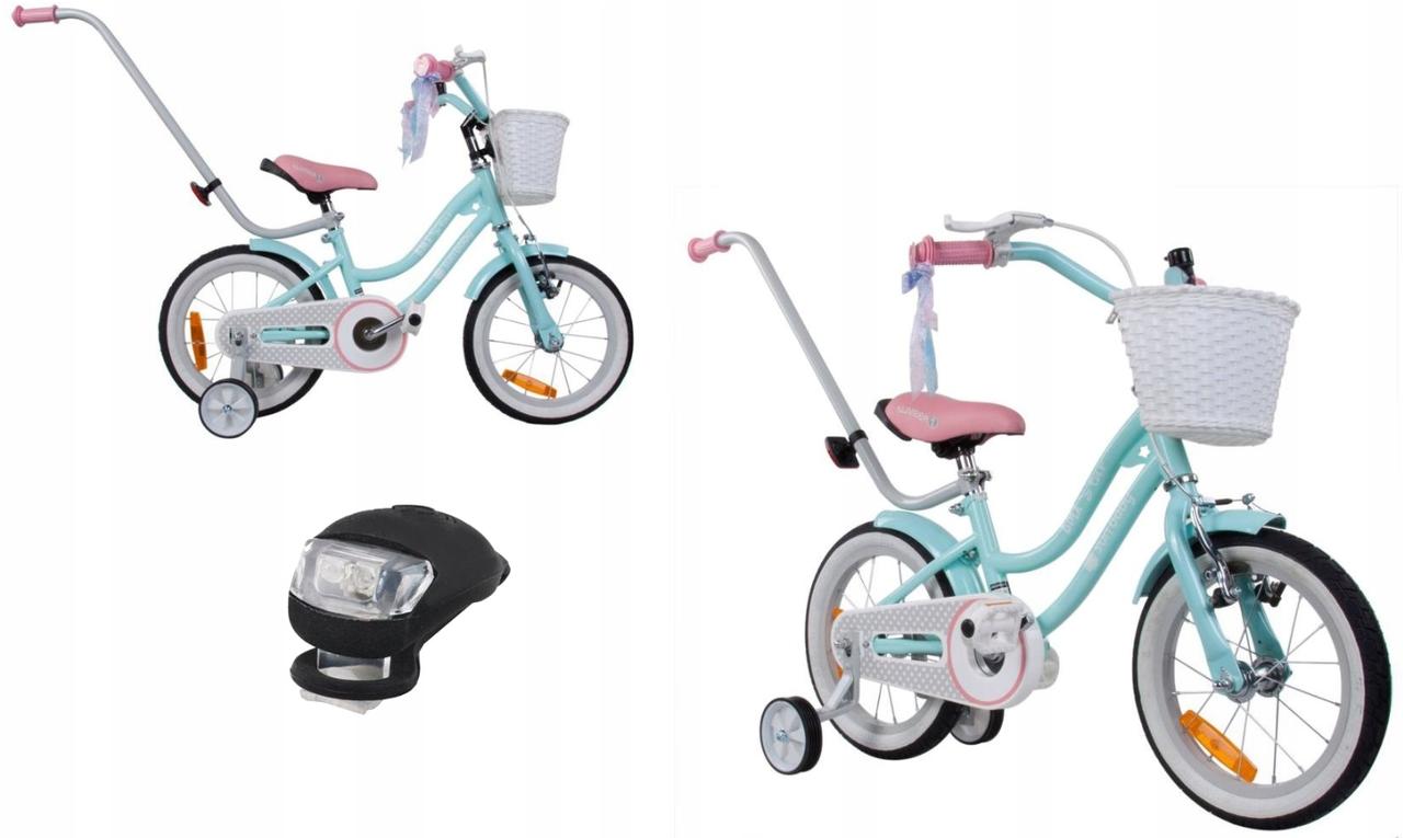 Детский велосипед  SUN BABY BMX STARS 14(голубой)