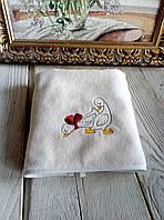 Полотенце с вышивкой Гусята 40 х 70 см