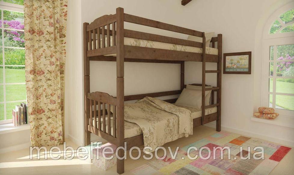 Кровать Бай-бай двухъярусная 80 (Мебигранд/Mebigrand) 860х2020(2120)х1700мм