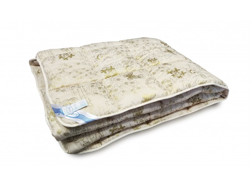 "Одеяло весна-осень Leleka-Textile 172х205 ""Овечья Шерсть"""