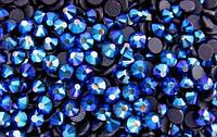 Стразы DMCss16 Blue AB(3,8- 4мм)горячей фиксации. 1000шт.