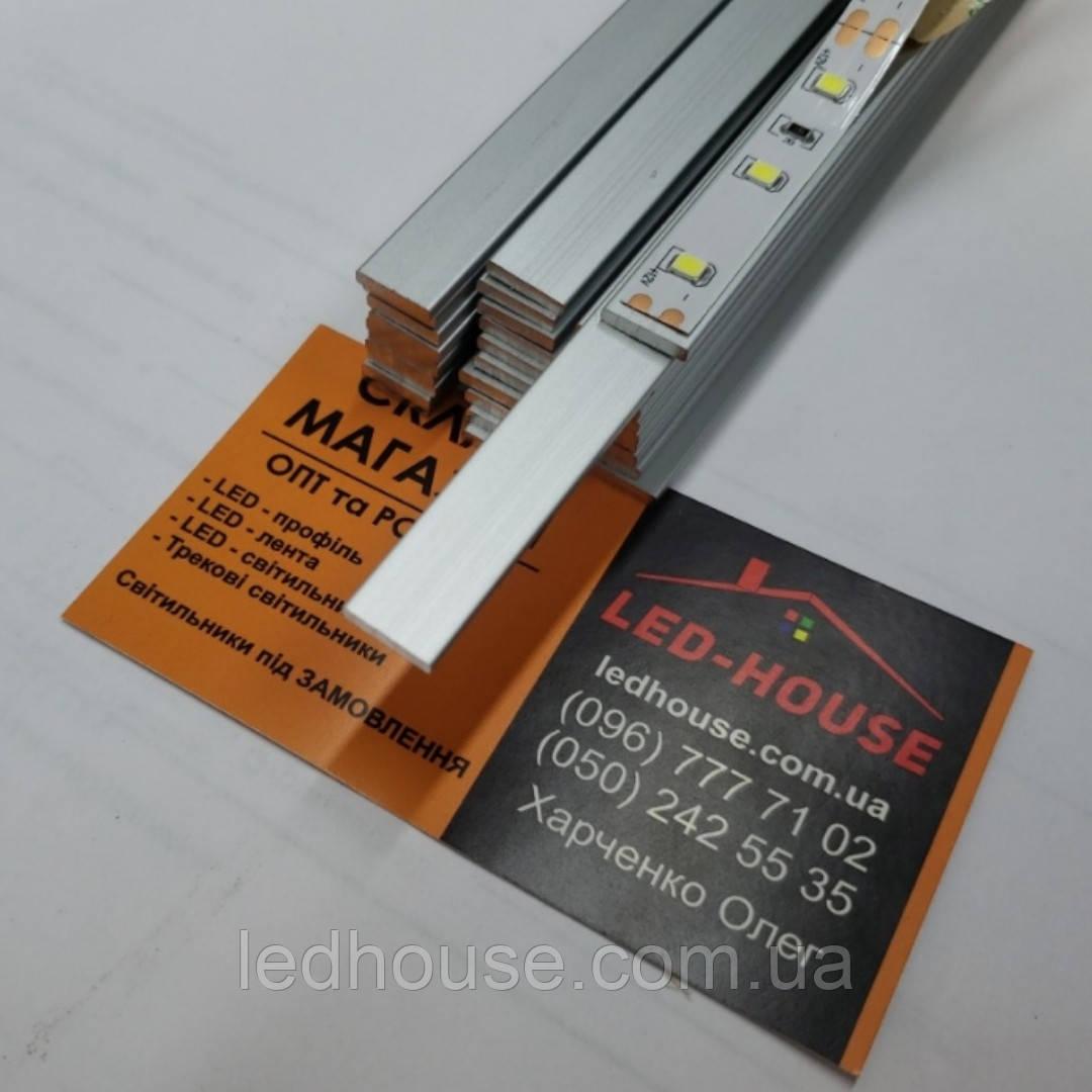 Алюминиева полоса 10х2мм для светодиодных лент