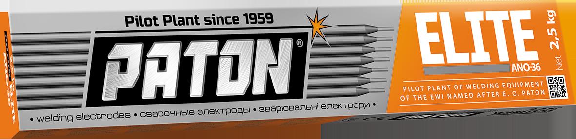 Электроды ПАТОН ELITE АНО-36 Ø 3 мм (упаковка - 2,5 кг)