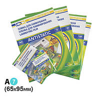 Плёнка для ламинирования глянцевая DA Lami Antistatic 175 мкм A7 65 x 95 мм 100 шт