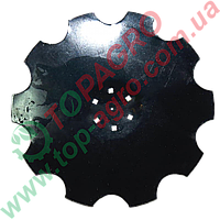 Диск ромашка Ø=510 мм, 6 отворів Kuhn (Bellota), H2203180 (EQ 5-1966-20 MR.10)