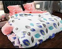 Двуспальное постельное белье Gold жарптица
