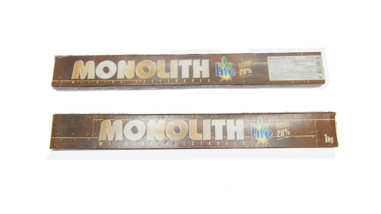 РЦ Монолит D-4ммЭлектроды сварочные (упак 1.0кг)