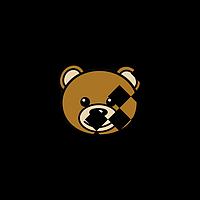 Термонаклейки на тапочки термо Мишка лого [Свой размер и материалы в ассортименте]