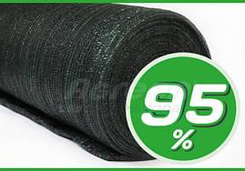 СЕТКА затеняющая для теплиц 95 % Agreen зеленая рулон