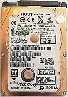 """Жесткий диск для ноутбука HGST Hitachi Travelstar 500GB 2.5"""" 16MB 7200rpm 3Gb/s (HTS725050A7E630) SATAII Б/У, фото 1"""