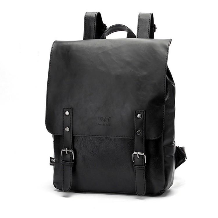 Мужской кожаный рюкзак.  Модель с8