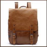 Мужской кожаный рюкзак.  Модель с8, фото 4