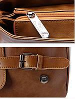 Мужской кожаный рюкзак.  Модель с8, фото 5