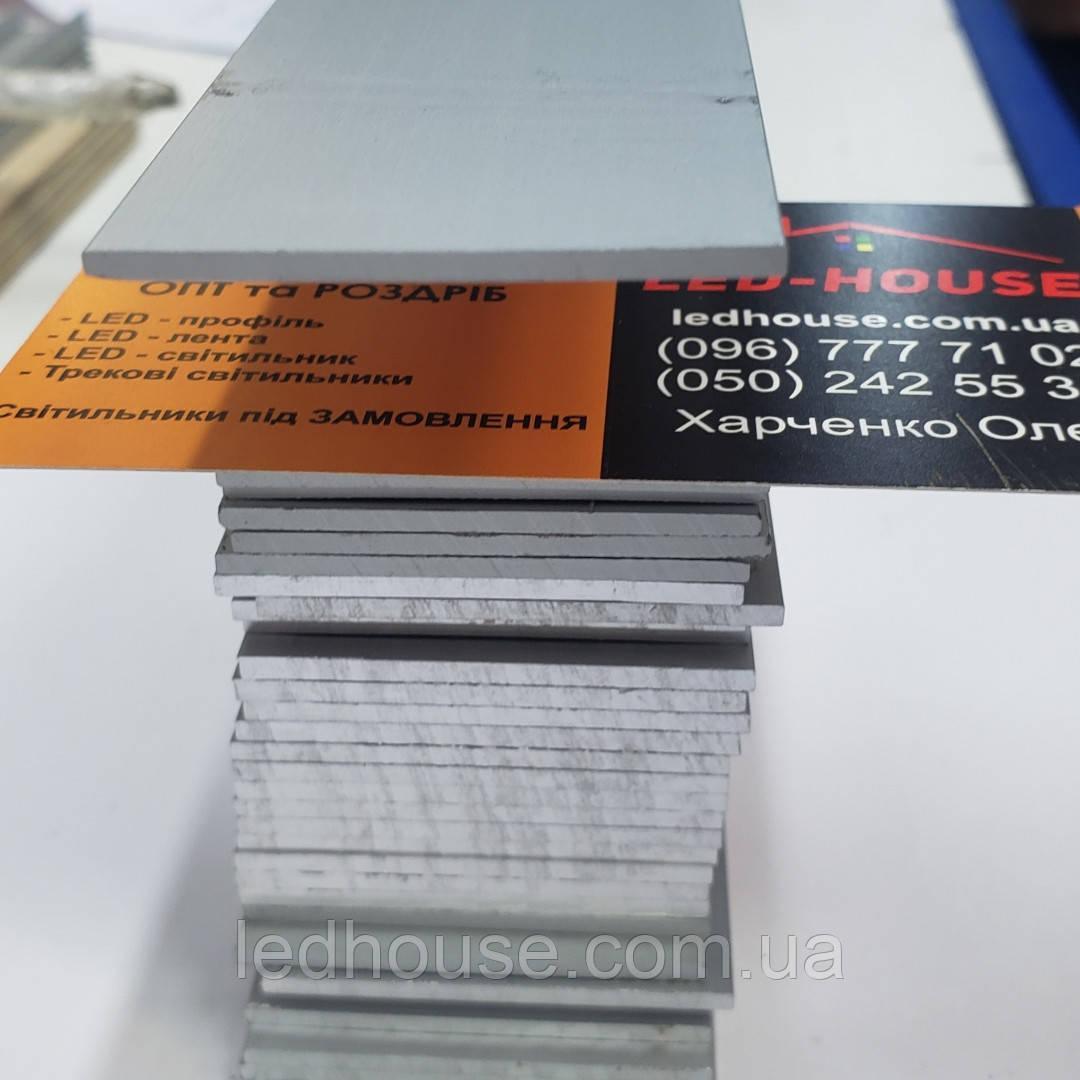 Полоса монтажная алюминиевая к профилю ЛСБ40 Анодированый