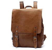 Мужской кожаный рюкзак.  Модель с8, фото 2