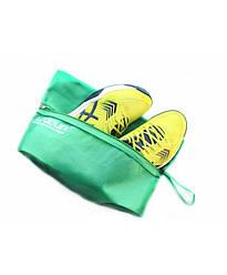 Сумка LiveUp Shoe bag зеленый S/M
